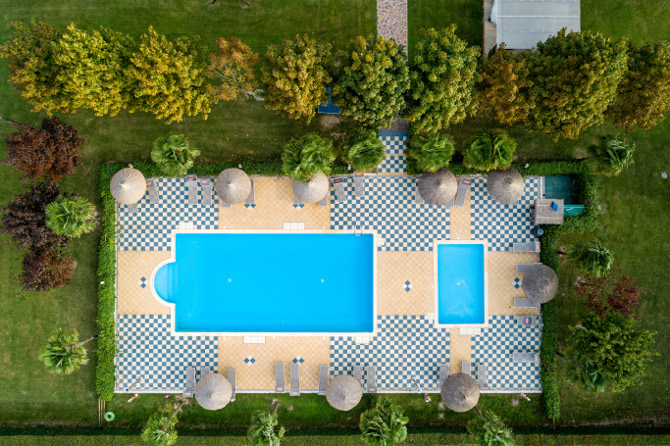 The swimming-pools at Case Are Residence, Brussa di Caorle (VE)