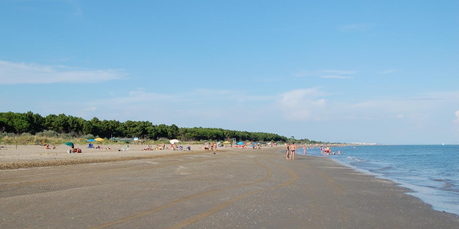Spiaggia libera della Brussa, Caorle